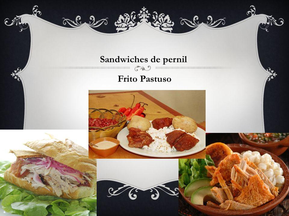 Sandwiches de pernil Frito Pastuso