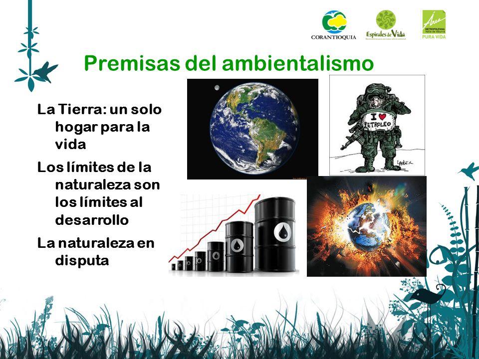 Premisas del ambientalismo