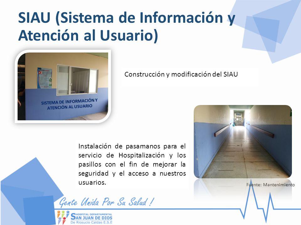 SIAU (Sistema de Información y Atención al Usuario)
