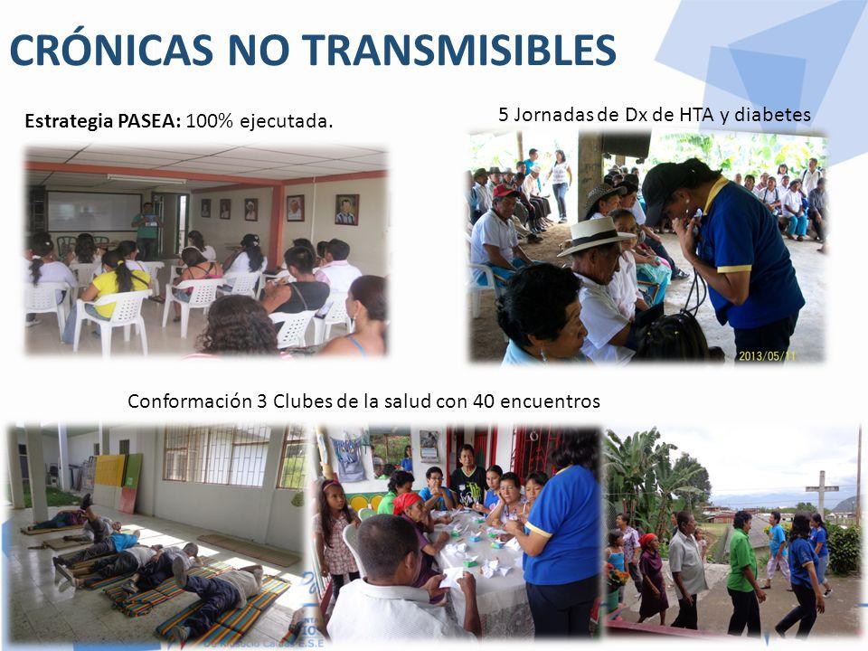 CRÓNICAS NO TRANSMISIBLES