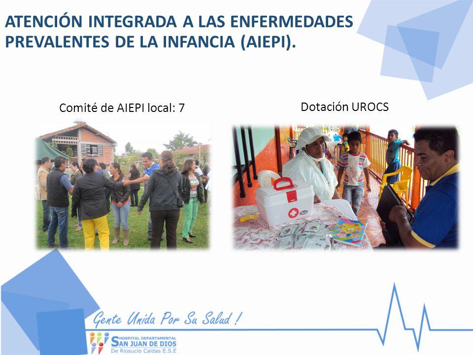 ATENCIÓN INTEGRADA A LAS ENFERMEDADES PREVALENTES DE LA INFANCIA (AIEPI).