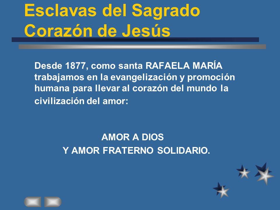 Esclavas del Sagrado Corazón de Jesús