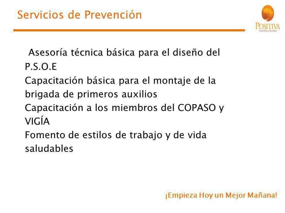 Servicios de Prevención