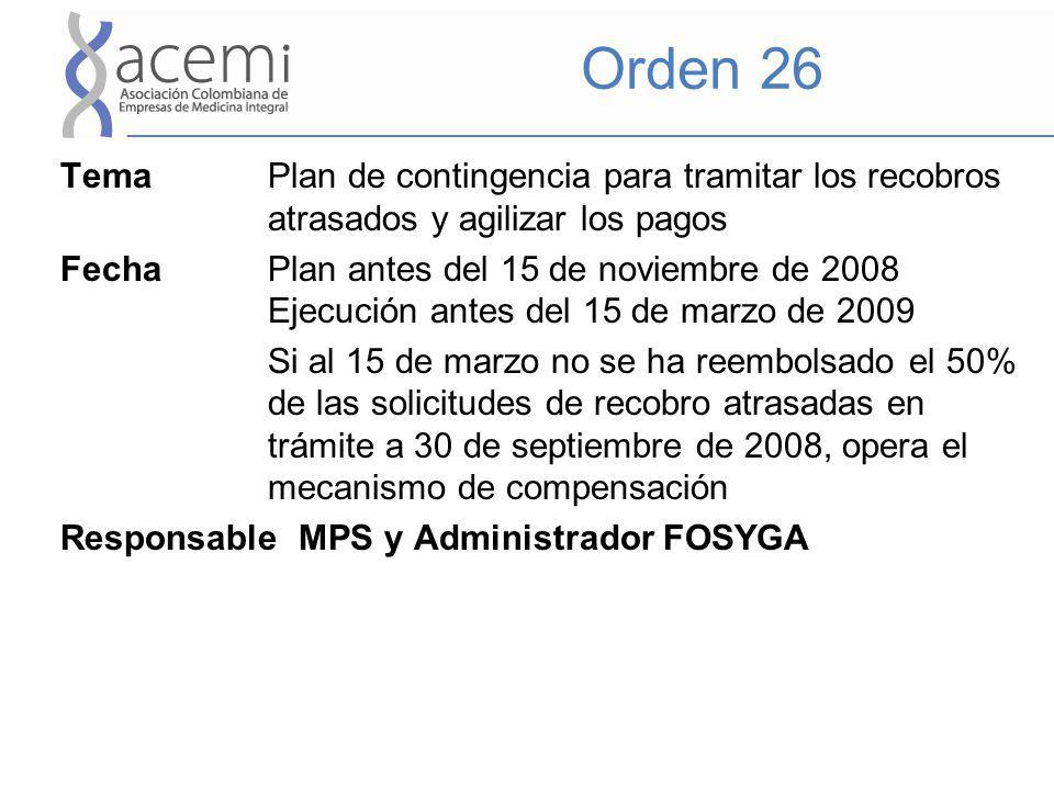 Orden 26