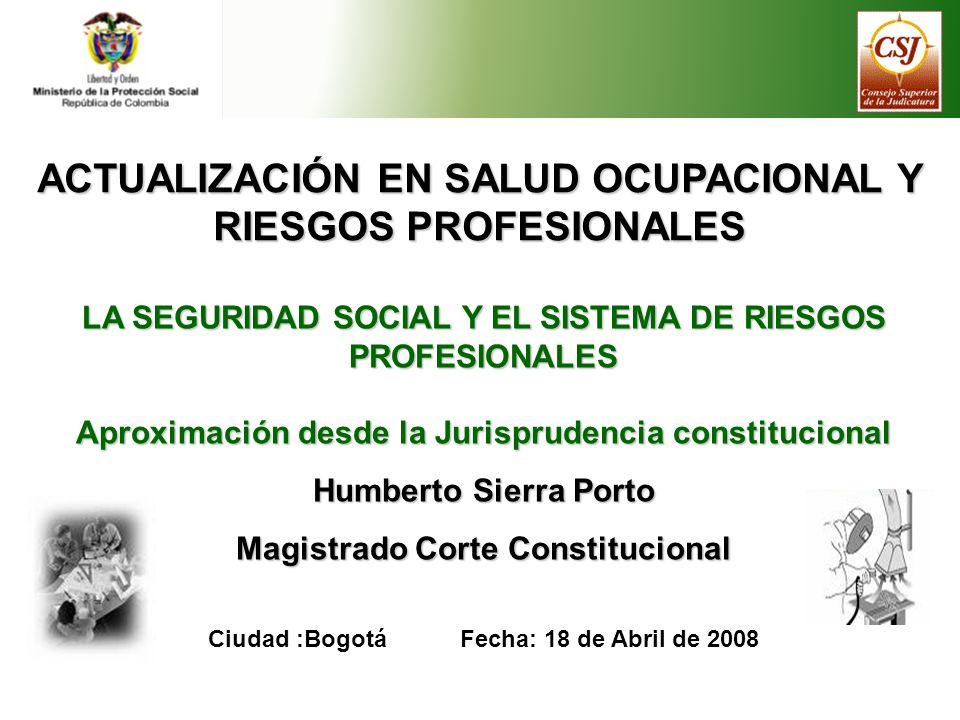 ACTUALIZACIÓN EN SALUD OCUPACIONAL Y RIESGOS PROFESIONALES