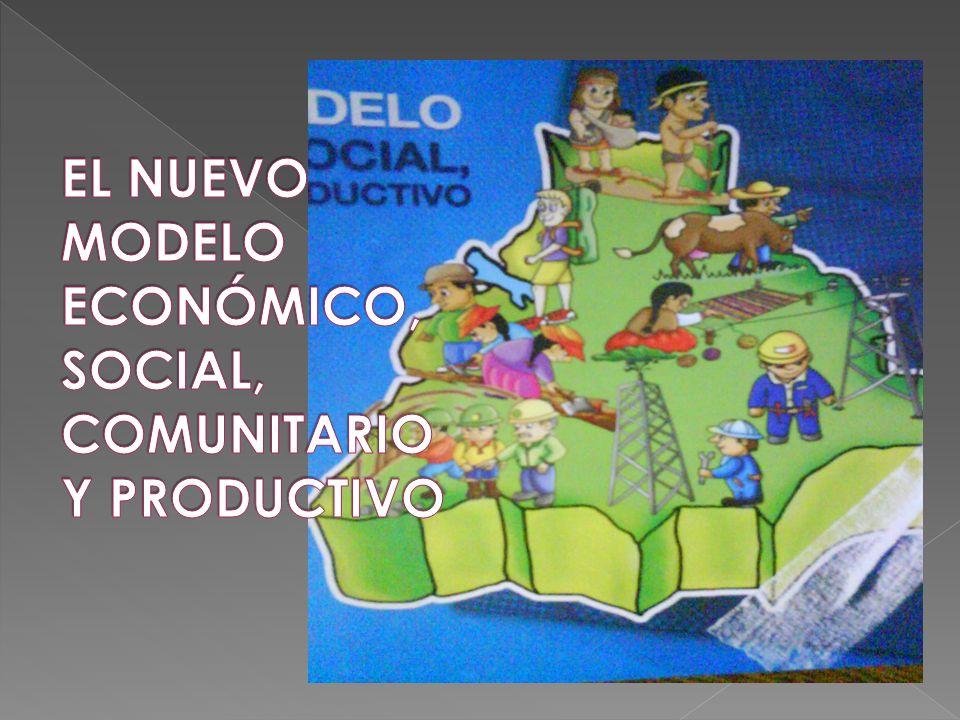 EL NUEVO MODELO ECONÓMICO, SOCIAL, COMUNITARIO Y PRODUCTIVO