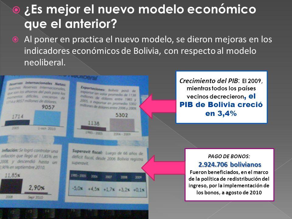 ¿Es mejor el nuevo modelo económico que el anterior