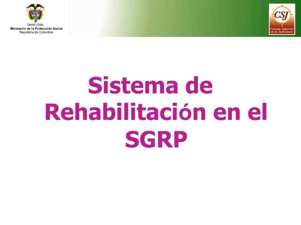 Sistema de Rehabilitación en el SGRP