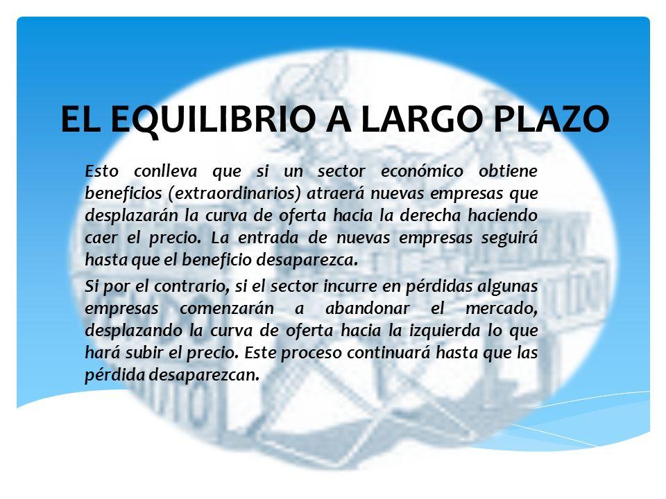 EL EQUILIBRIO A LARGO PLAZO