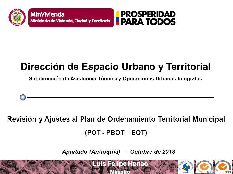 Dirección de Espacio Urbano y Territorial