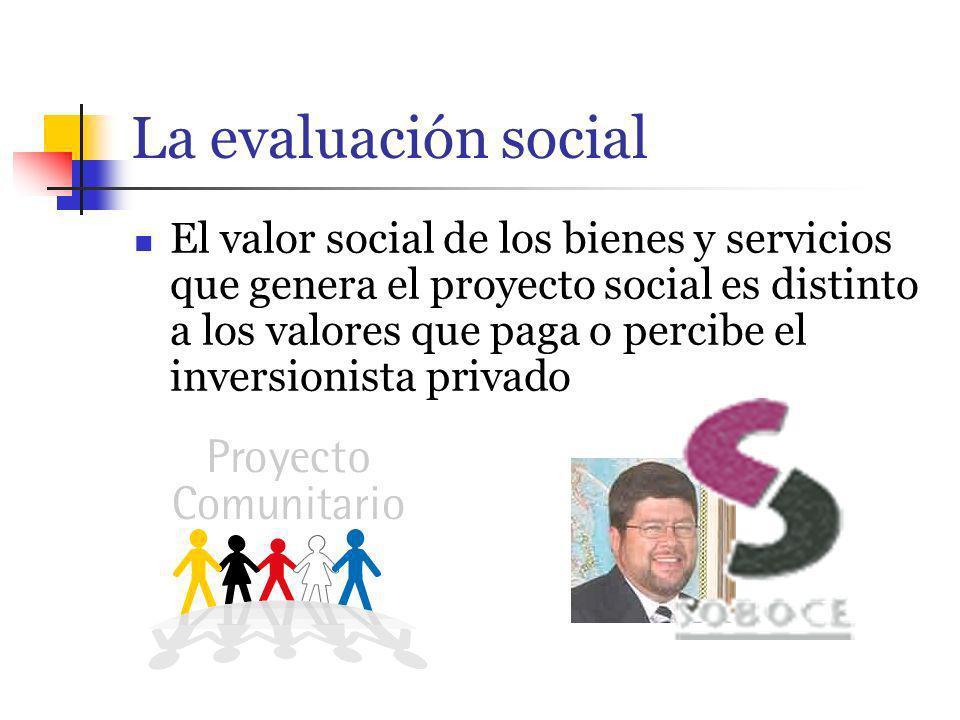La evaluación social
