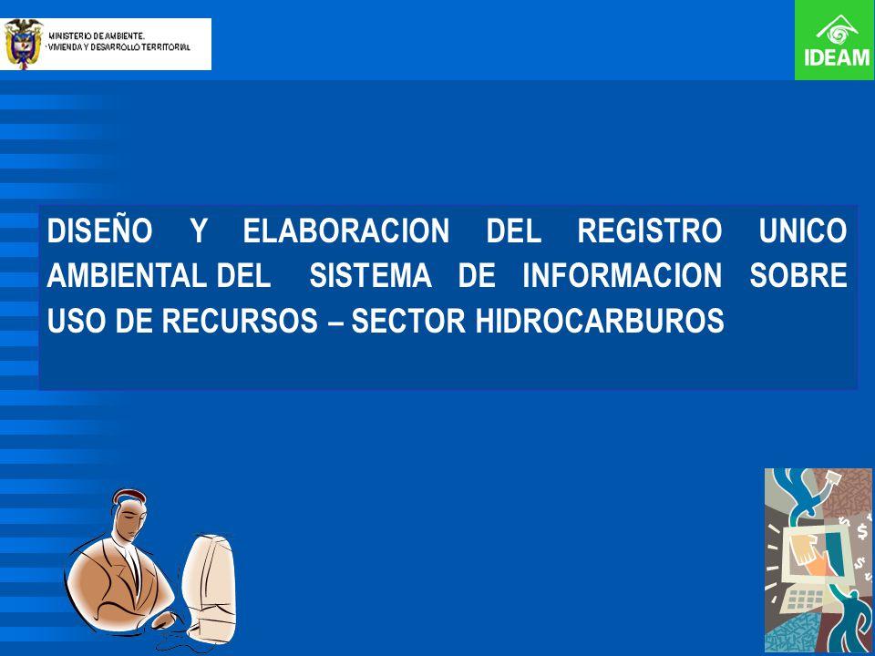 DISEÑO Y ELABORACION DEL REGISTRO UNICO AMBIENTAL DEL