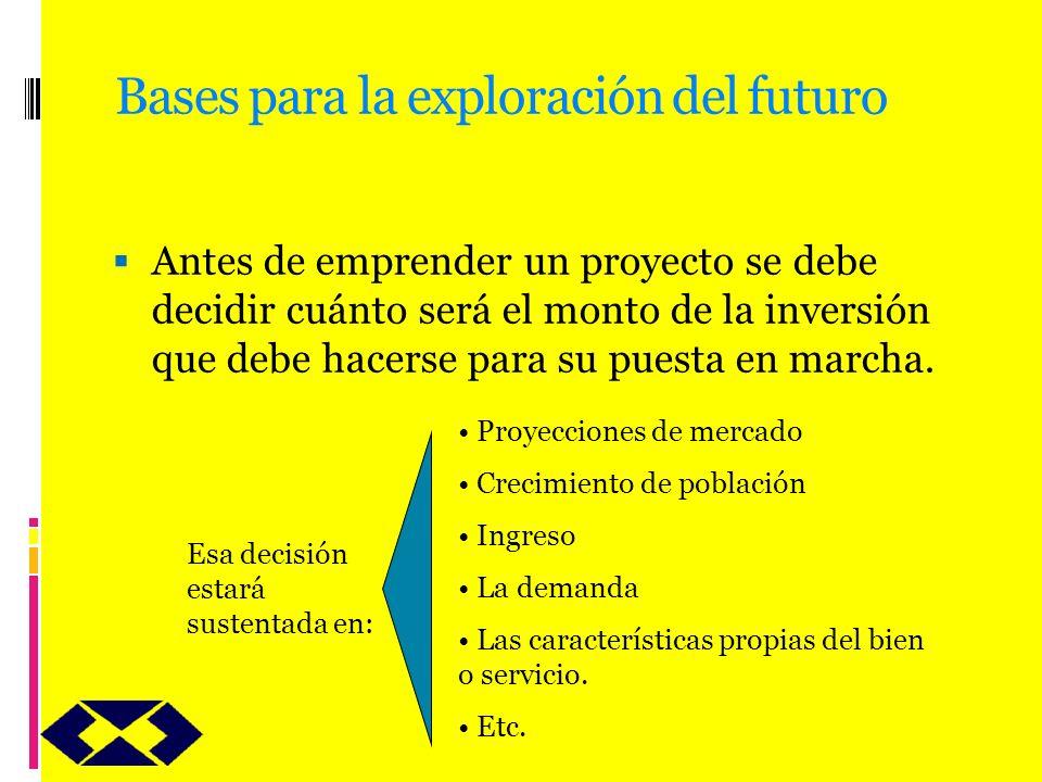 Bases para la exploración del futuro