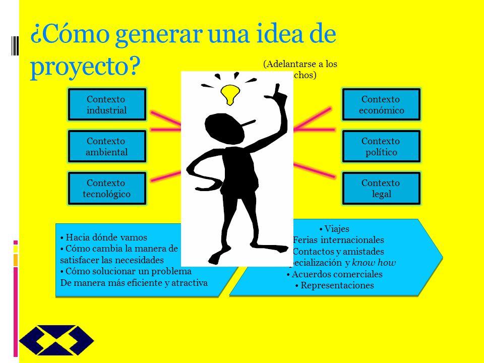 ¿Cómo generar una idea de proyecto