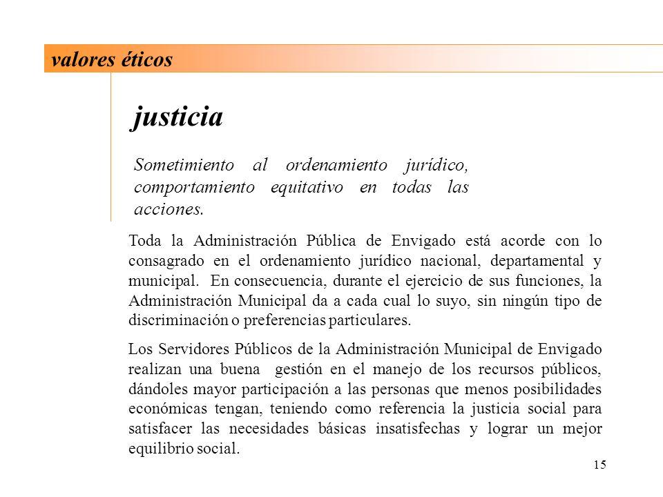 justicia valores éticos