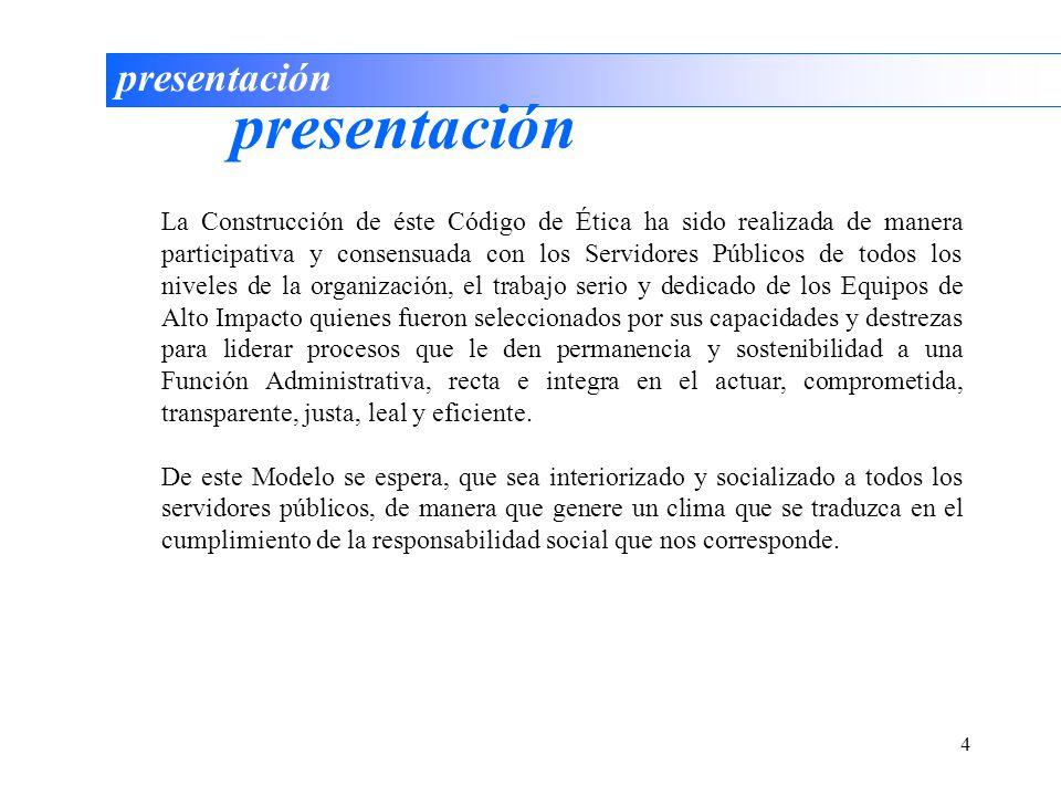 presentación presentación