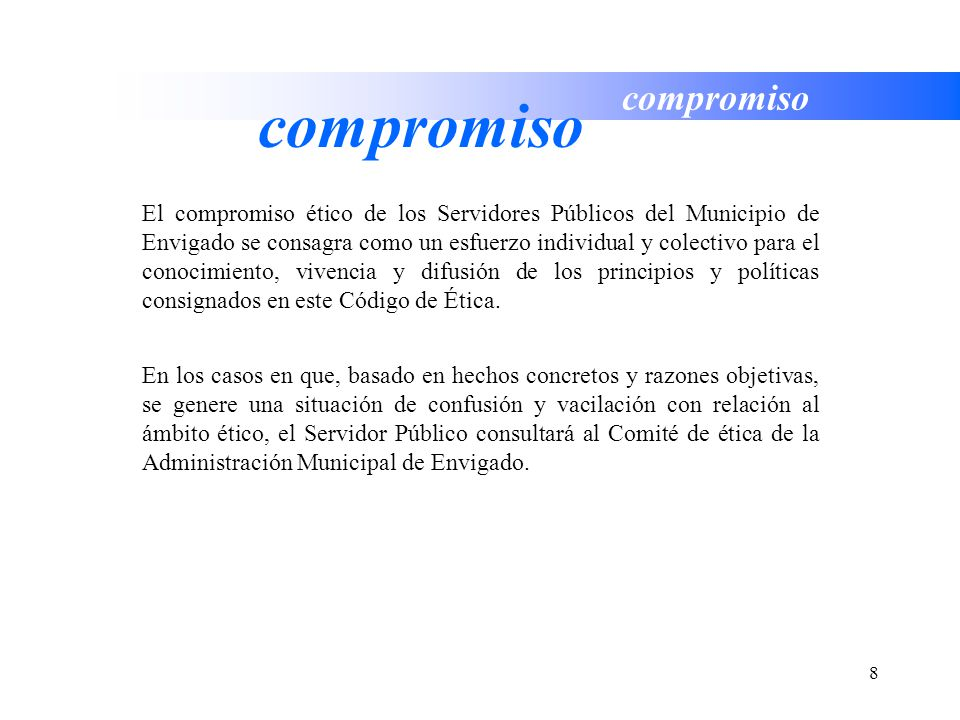 compromiso compromiso