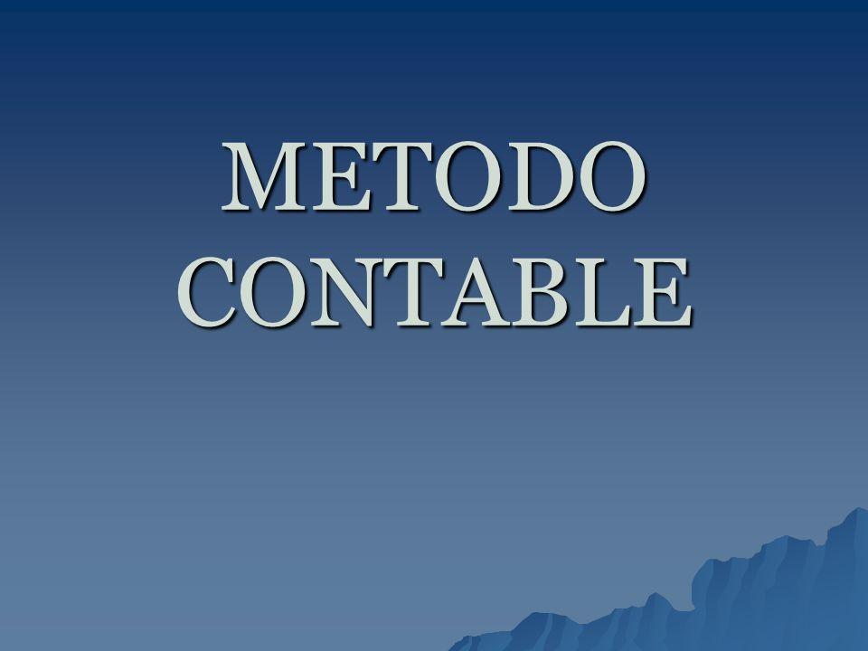 METODO CONTABLE