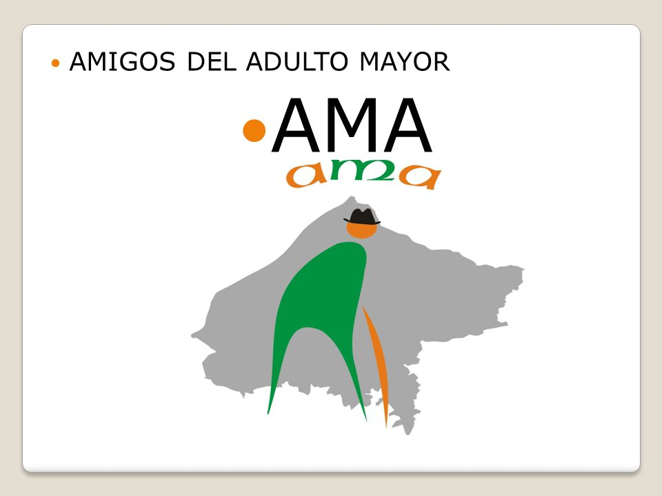 AMIGOS DEL ADULTO MAYOR