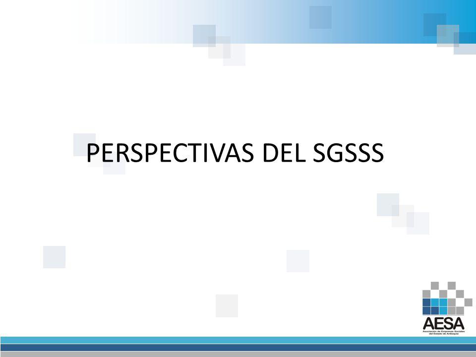 PERSPECTIVAS DEL SGSSS