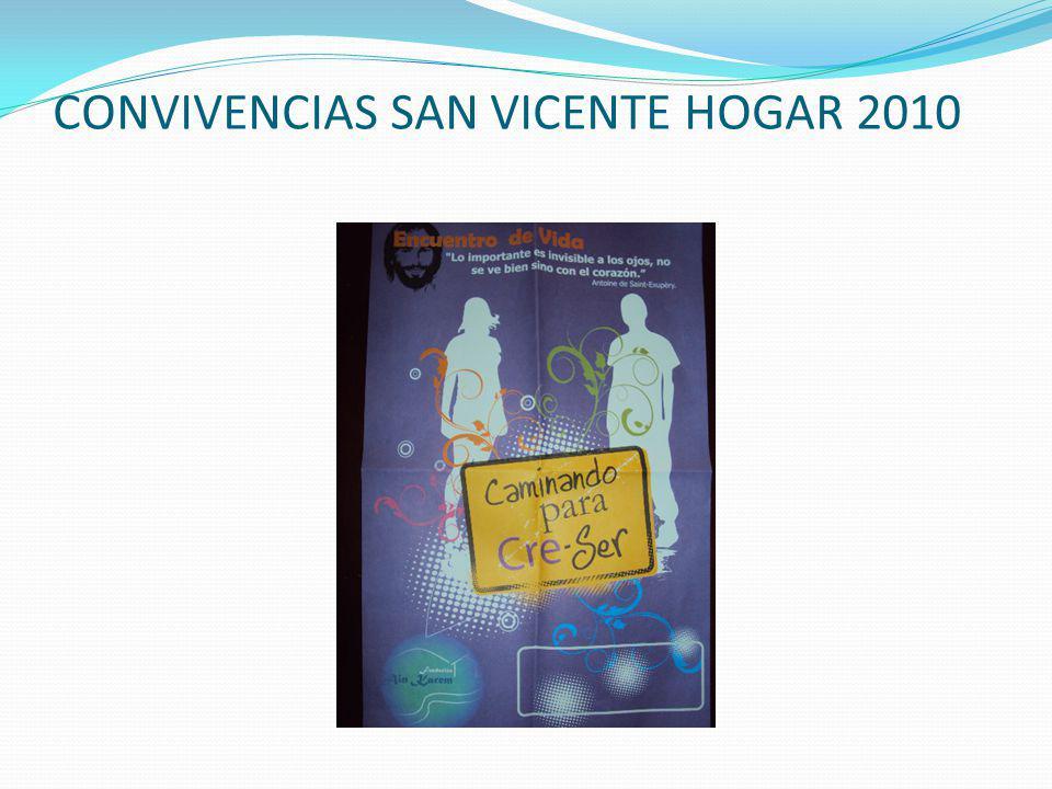 CONVIVENCIAS SAN VICENTE HOGAR 2010