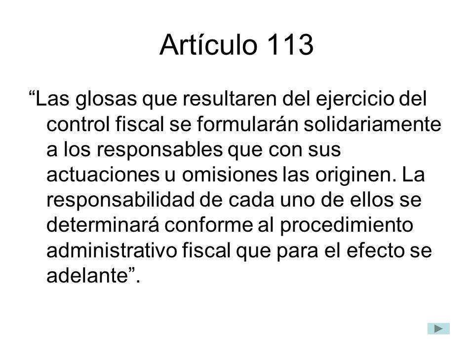 Artículo 113