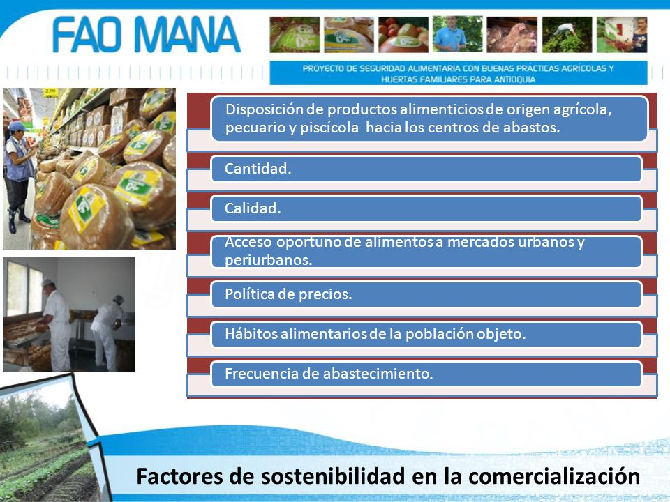 Factores de sostenibilidad en la comercialización