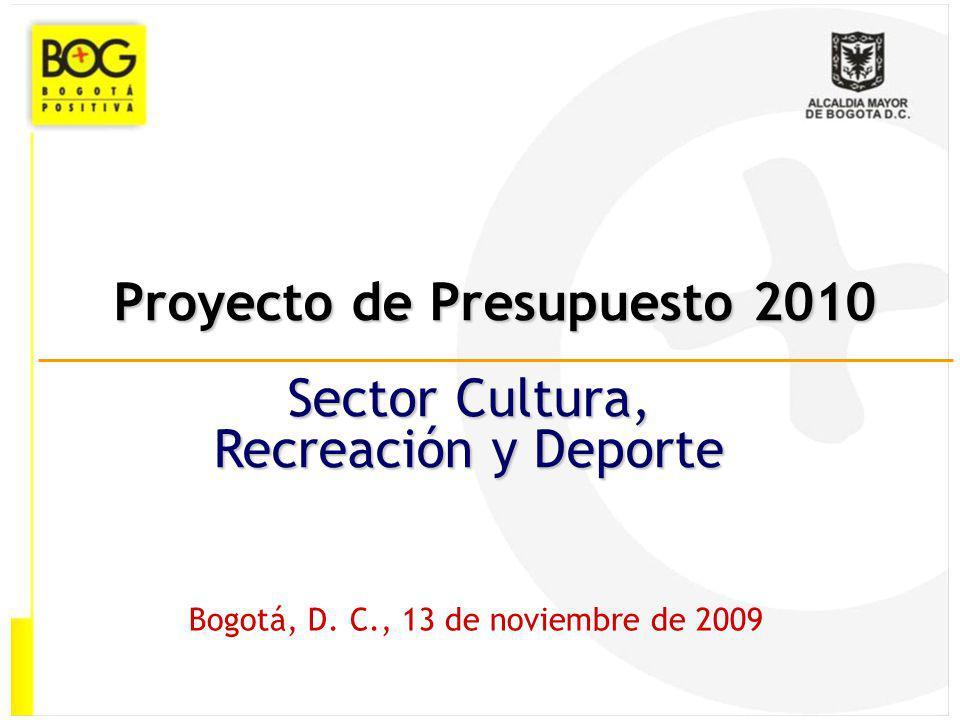 Proyecto de Presupuesto 2010