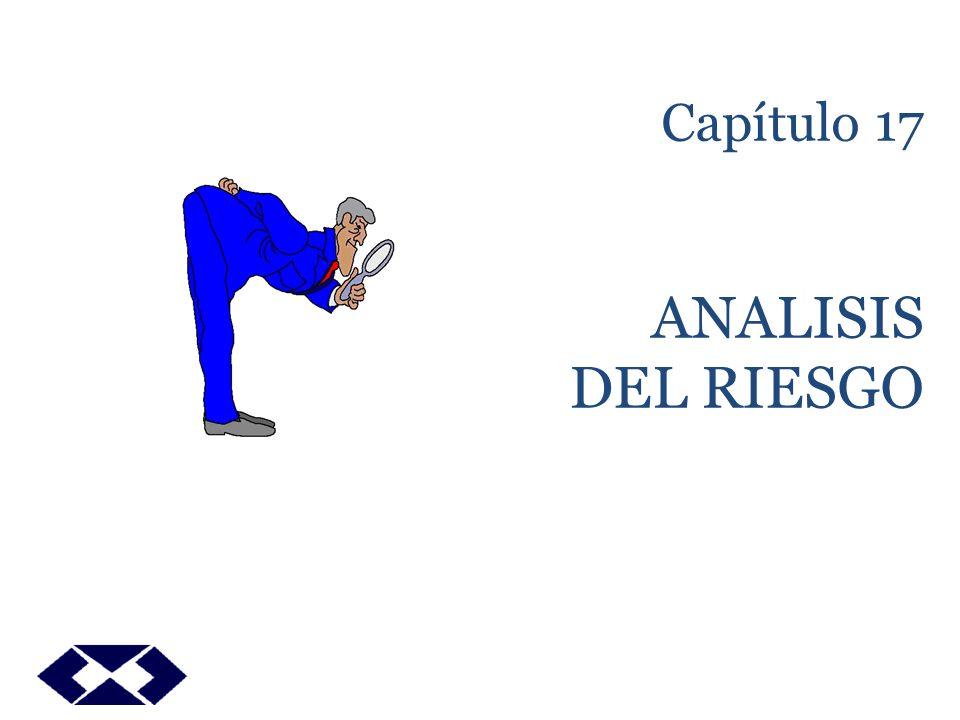 Capítulo 17 ANALISIS DEL RIESGO