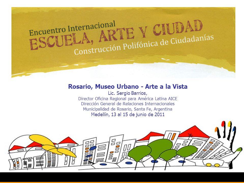 Rosario, Museo Urbano - Arte a la Vista