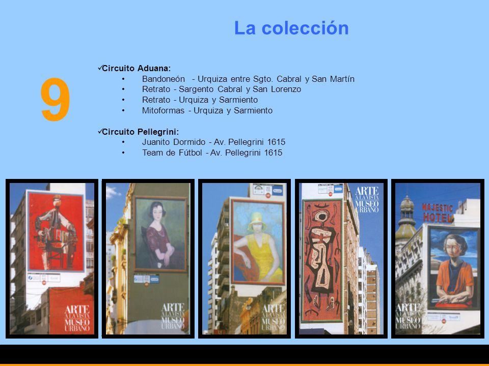 9 La colección Circuito Aduana: