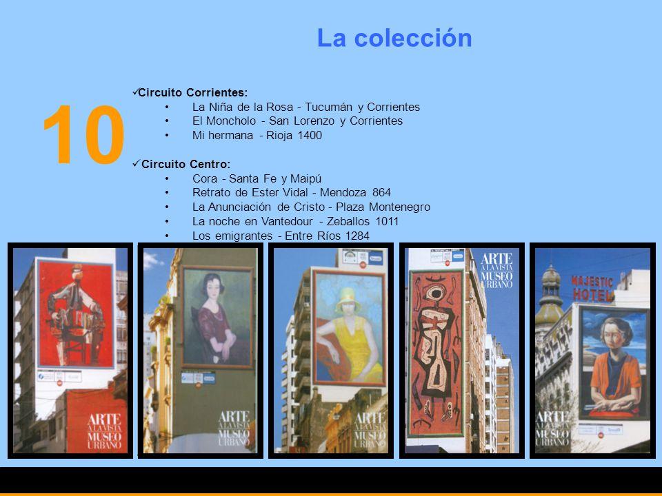 10 La colección Circuito Corrientes: