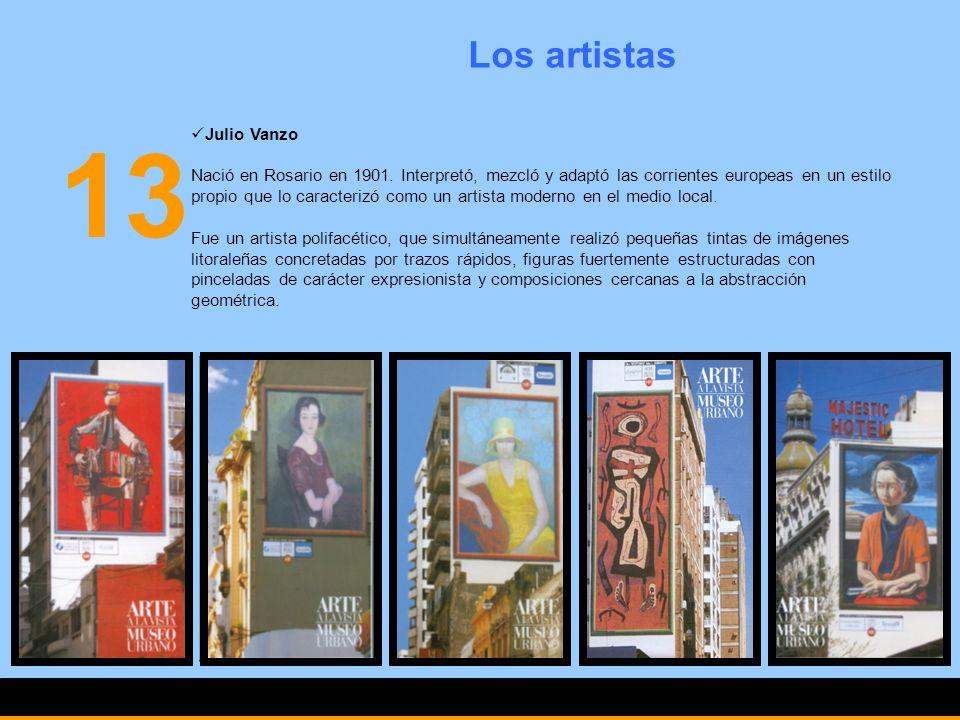 13 Los artistas Julio Vanzo