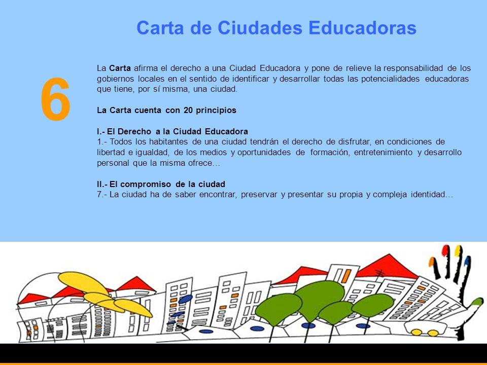 Carta de Ciudades Educadoras