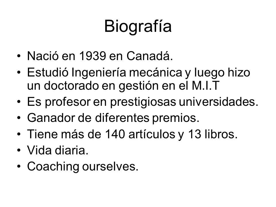 Biografía Nació en 1939 en Canadá.
