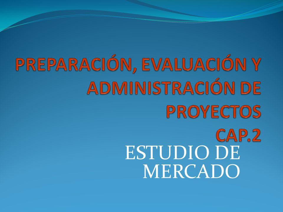 PREPARACIÓN, EVALUACIÓN Y ADMINISTRACIÓN DE PROYECTOS CAP.2