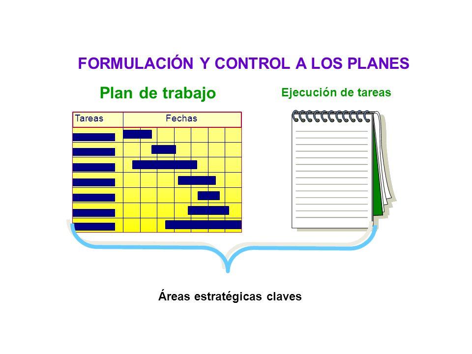 Habilidad de planeación FORMULACIÓN Y CONTROL A LOS PLANES
