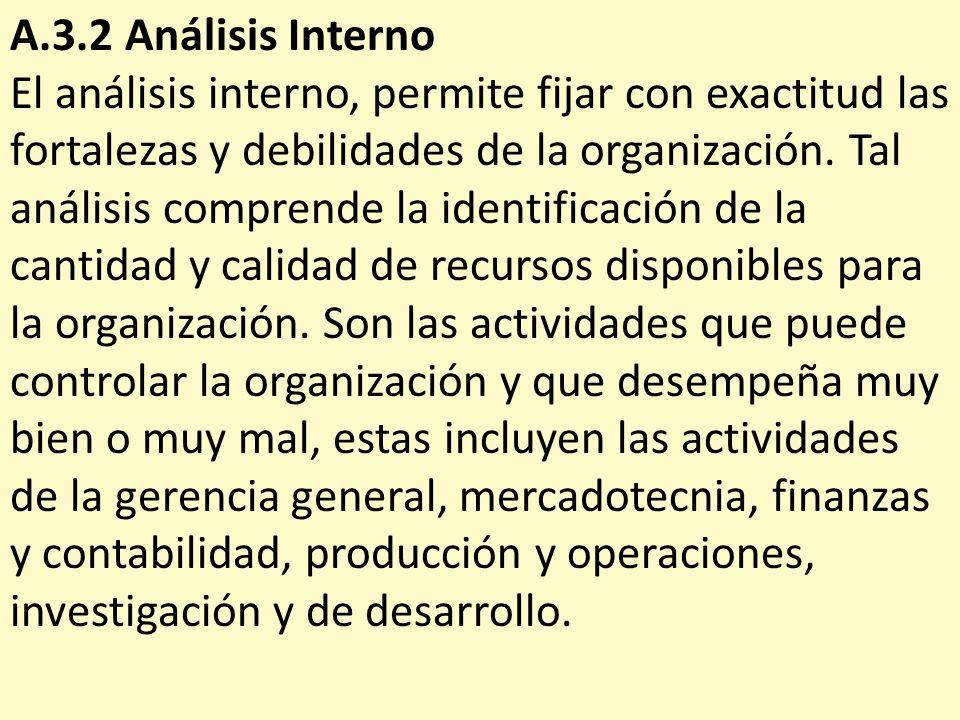 A.3.2 Análisis Interno