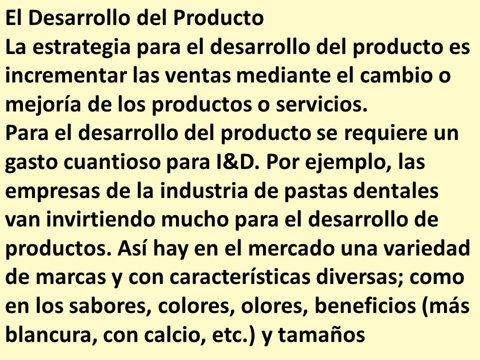 El Desarrollo del Producto