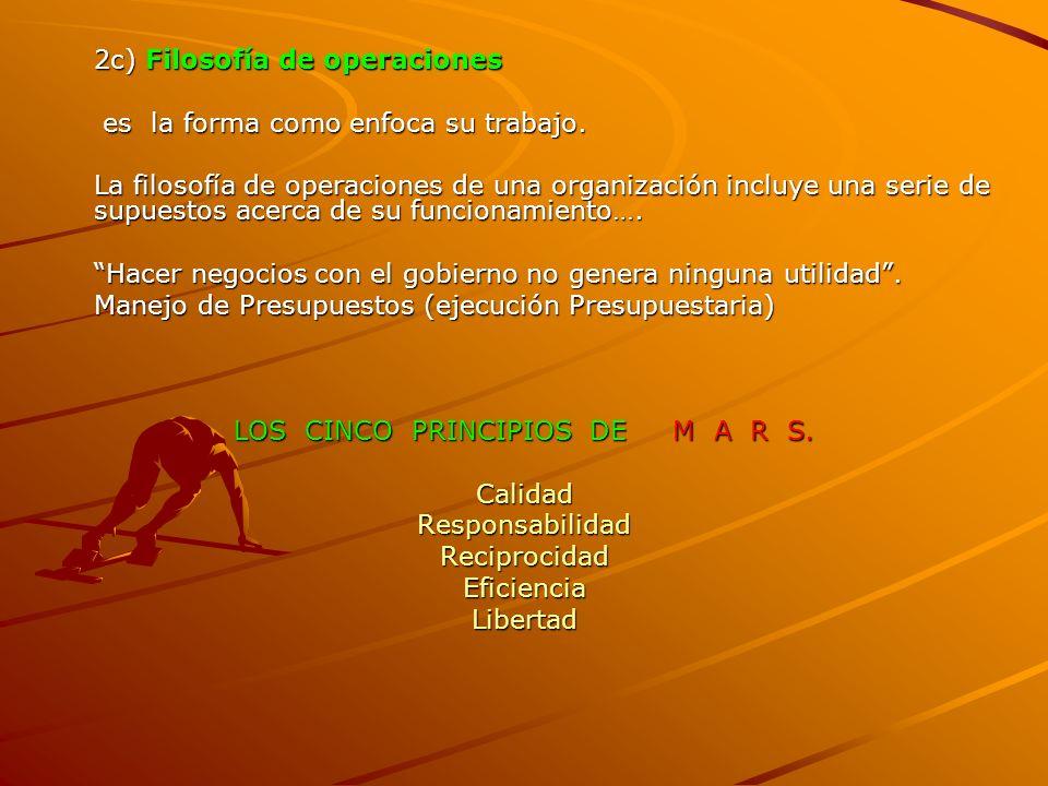 LOS CINCO PRINCIPIOS DE M A R S.