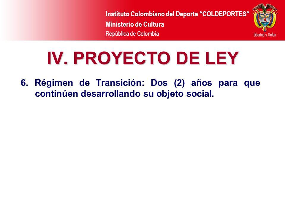 Instituto Colombiano del Deporte COLDEPORTES