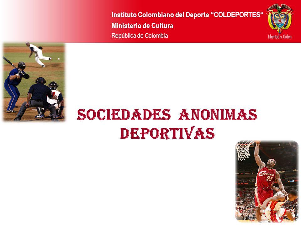 SOCIEDADES ANONIMAS DEPORTIVAS