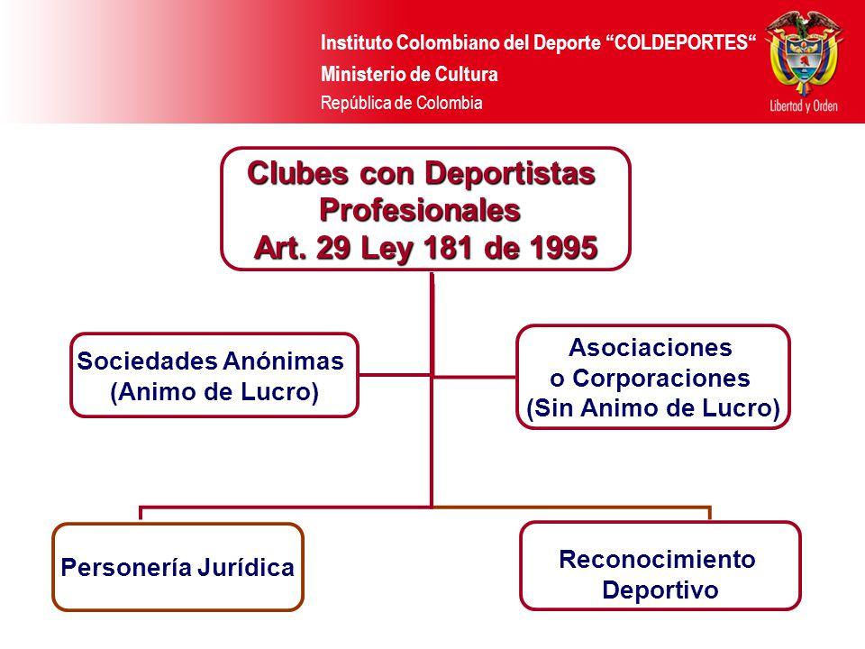 Clubes con Deportistas