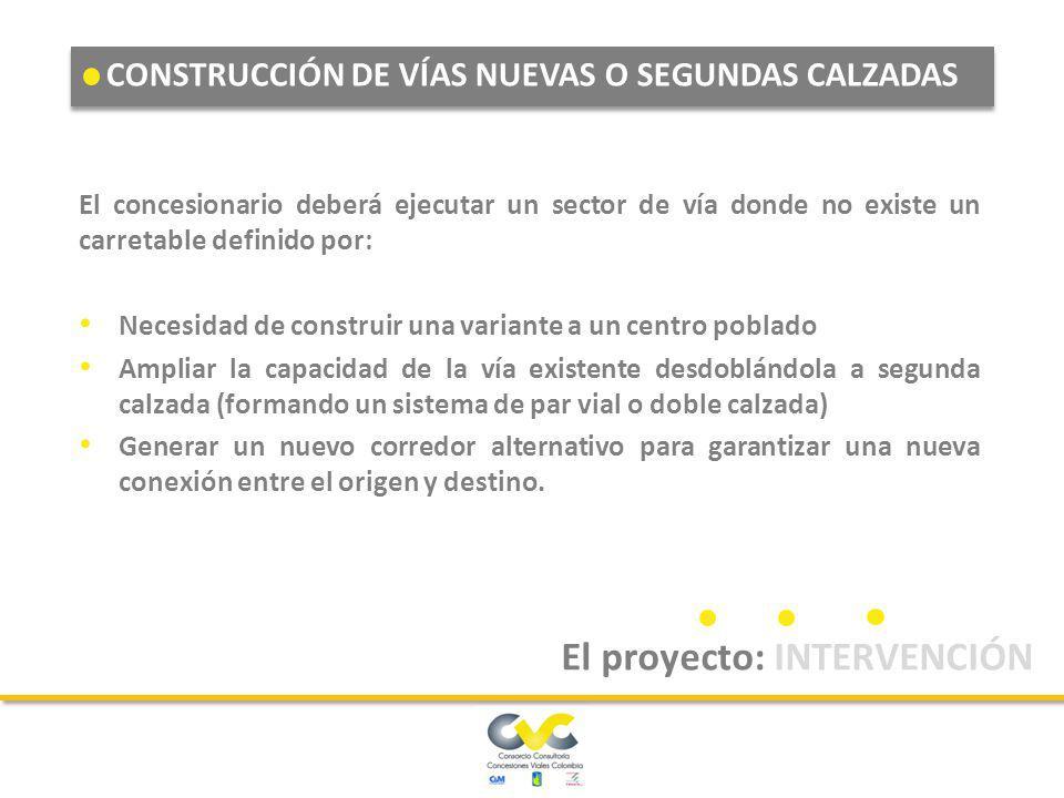 El proyecto: INTERVENCIÓN
