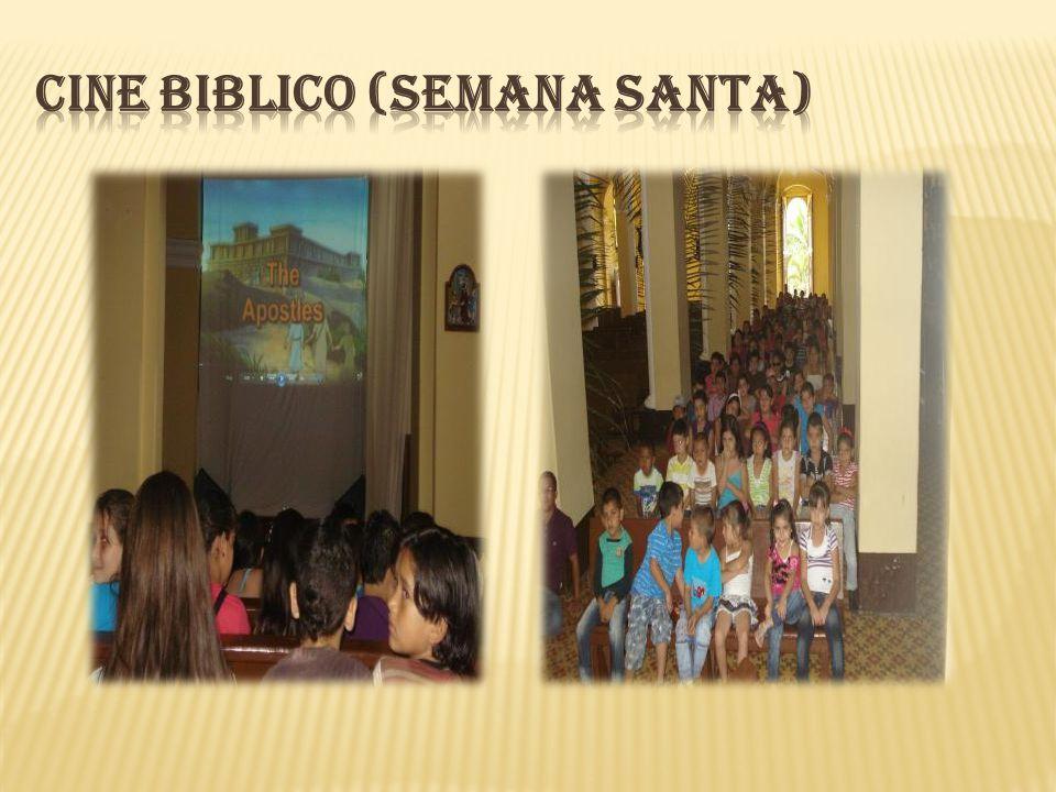 CINE BIBLICO (Semana Santa)