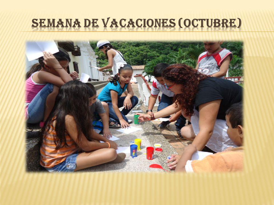 SEMANA DE VACACIONES (Octubre)
