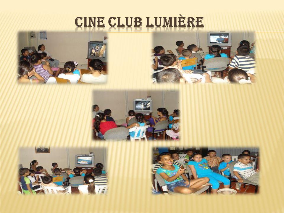 CINE CLUB LUMIÈRE