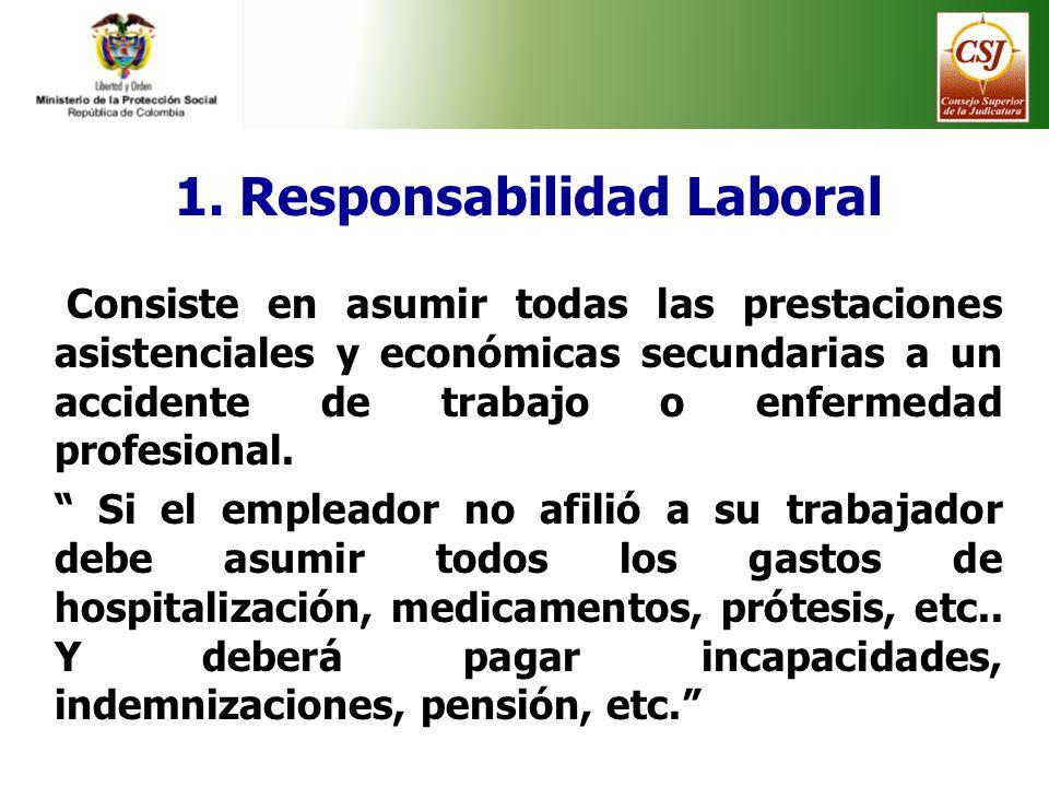 1. Responsabilidad Laboral