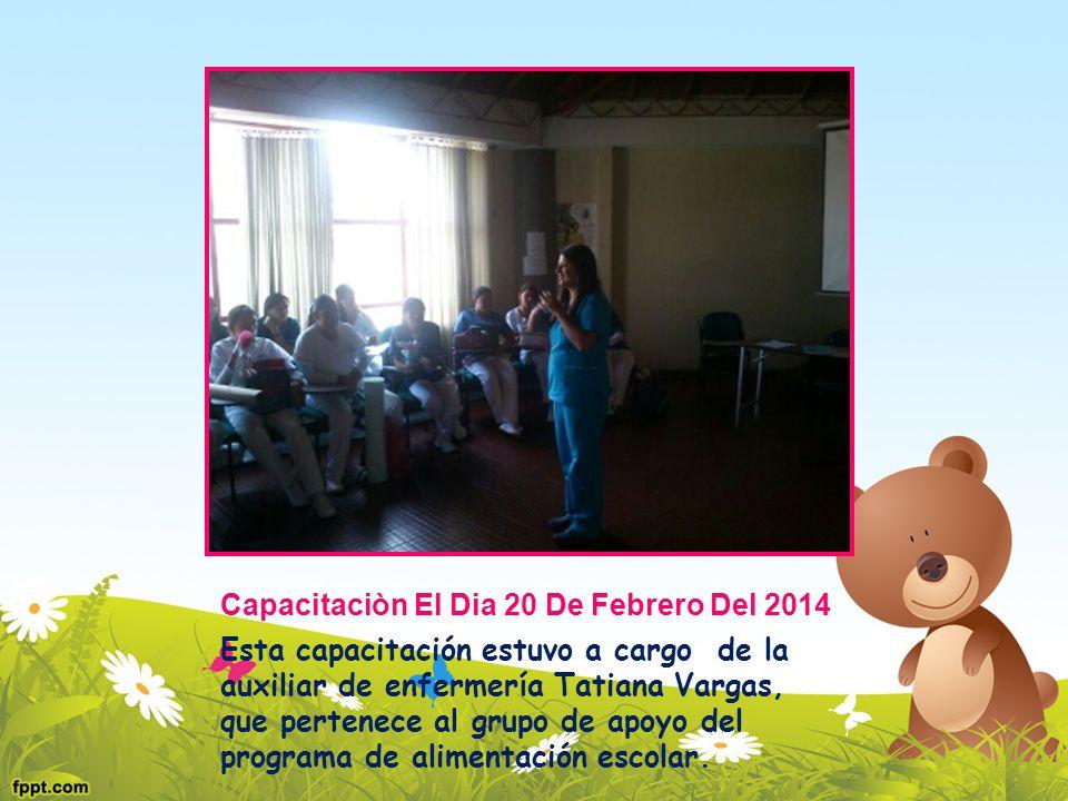 Capacitaciòn El Dia 20 De Febrero Del 2014