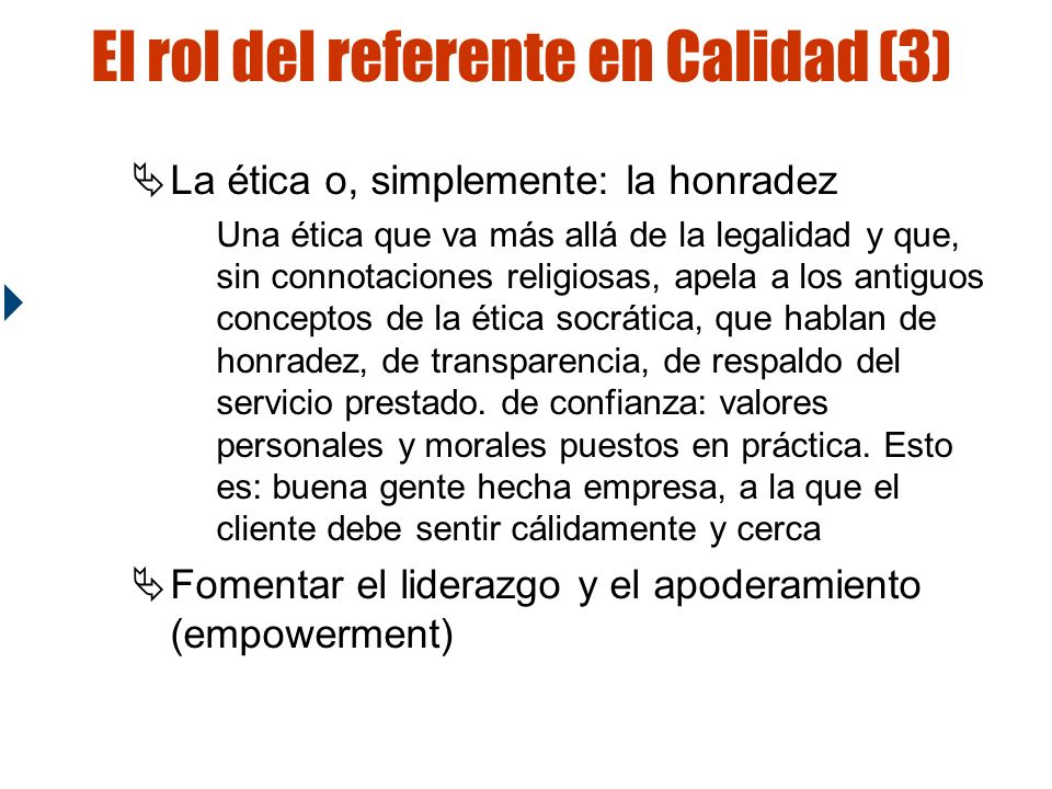 El rol del referente en Calidad (3)